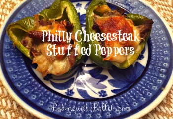 Philly Cheese-steak Stuffed Peppers