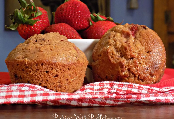 Light Fresh Strawberry Muffin Recipe