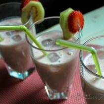 Kiwi Aardbeien Smoothie-7