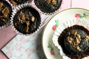Valentijns Chocolade Muffins-12