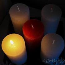 Advent, Adventskaarsen