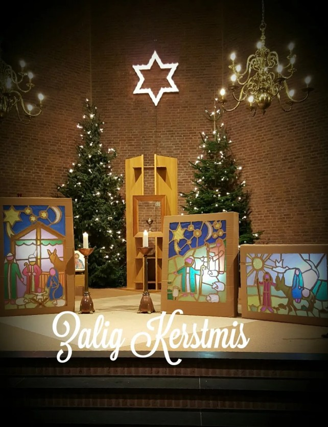 kerstgroet, kerst, Lucaskerk