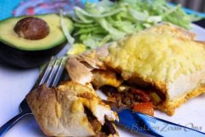 Burito's met gesmolten kaas