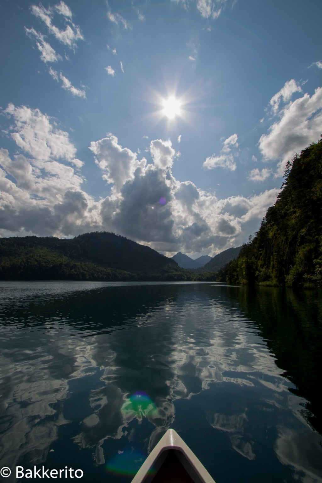 A view from the Alpsee