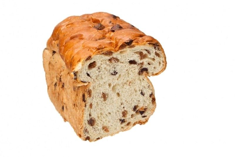 krenten rozijnen brood zonder spijs