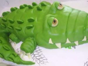 verjaardagstaart krokodil1