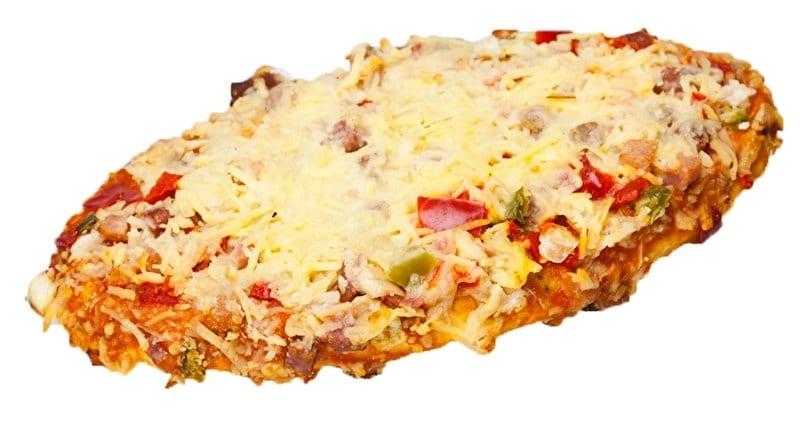 Kleine pizza-pizzabroodje