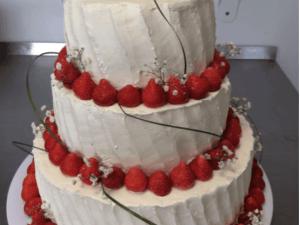 Bruidstaart aardbei