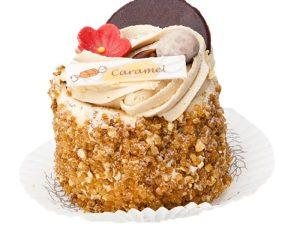 Hazelnoot caramel gebak