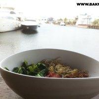 Bakmi Sakau, Cafe Dermaga, Pantai Mutiara