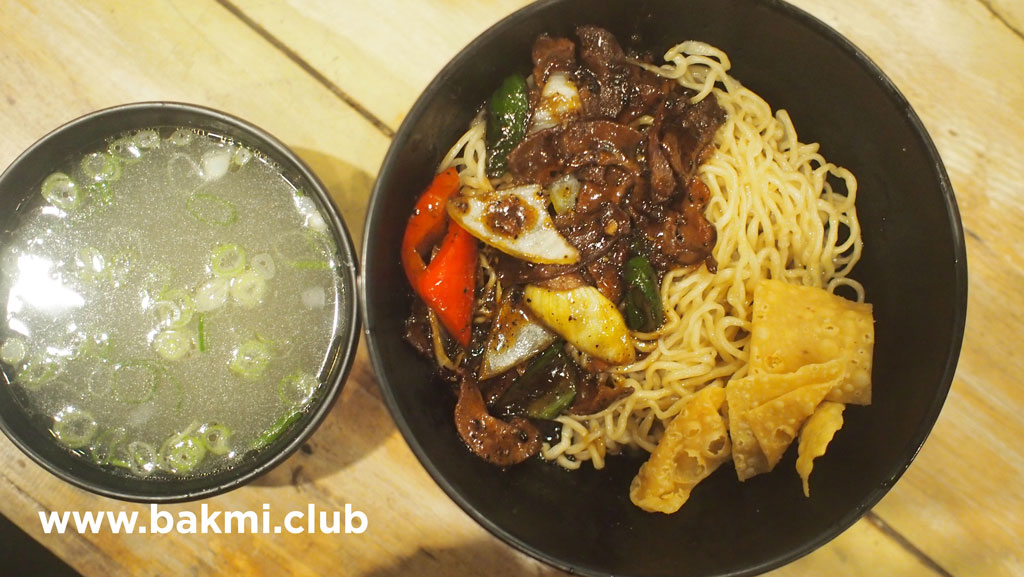Mie Sapi Lada Hitam, OTW Food Street, Kelapa Gading