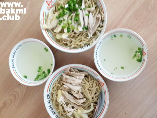 Bakmi Ayam Alok. Foto oleh Linda Suk Li