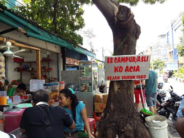 Es Campur Ko Acia
