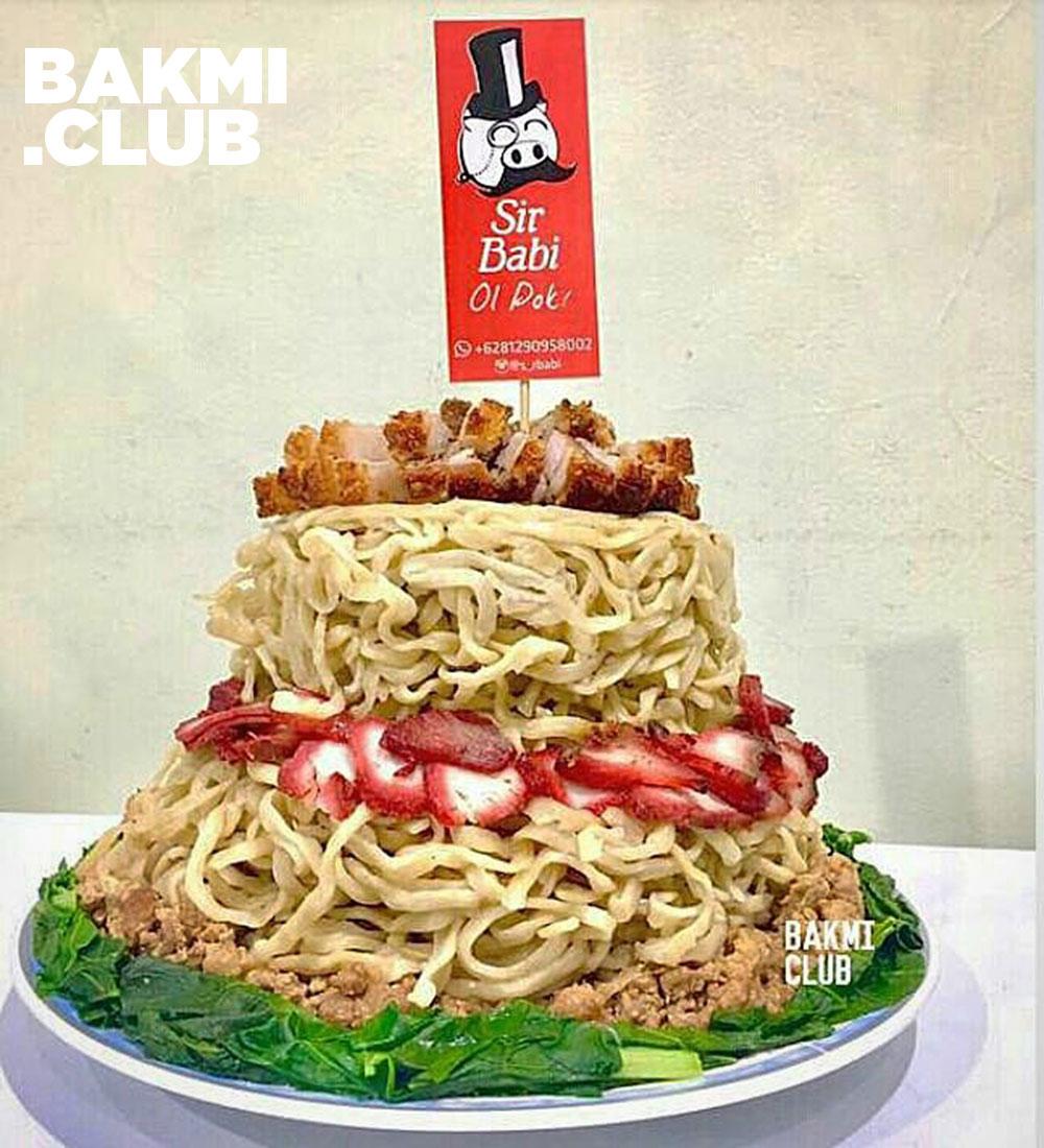 Birthday Cake Bakmi