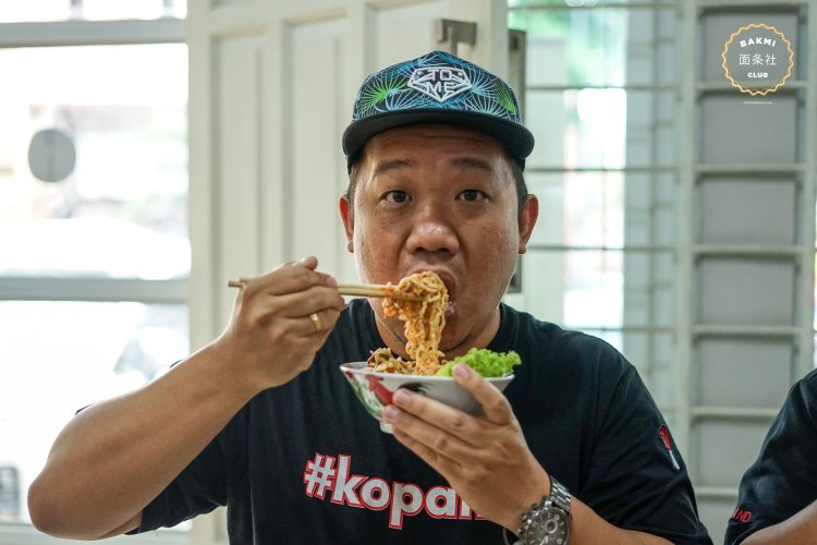 Mie ayam lezat Jakarta