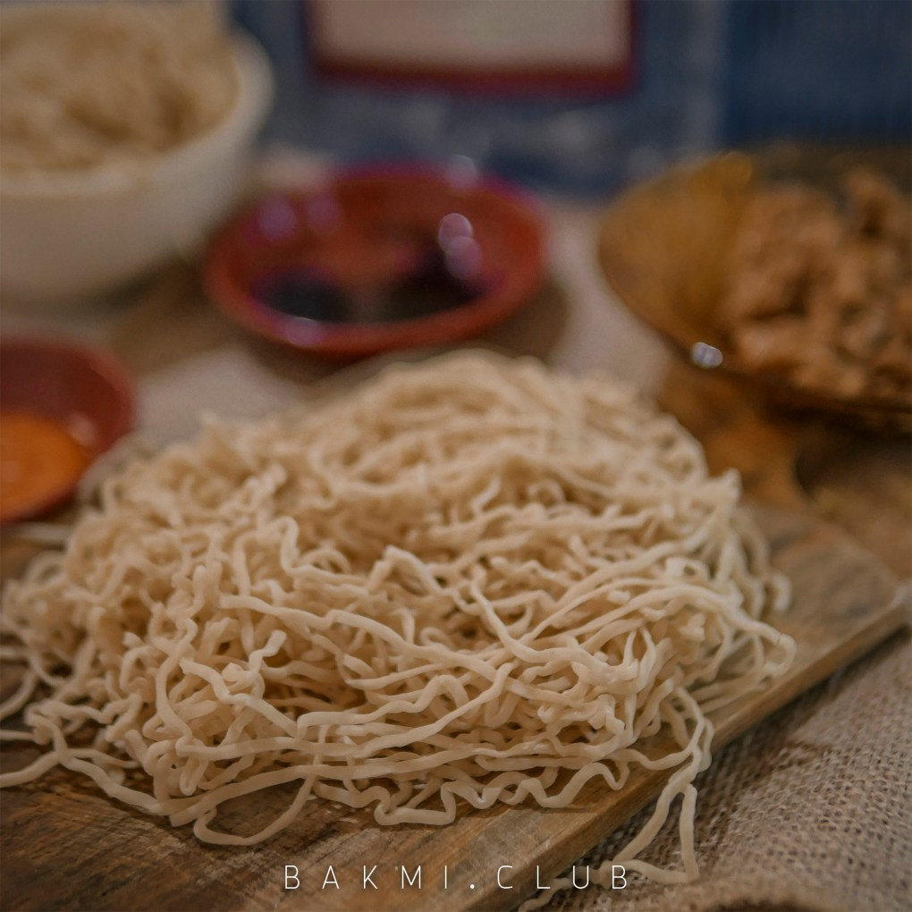 Bakmi Nasional pre cooked noodle
