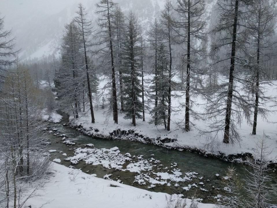 Le Val Bever sous la neige de mai