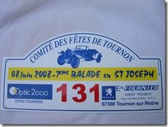 plaques 2008