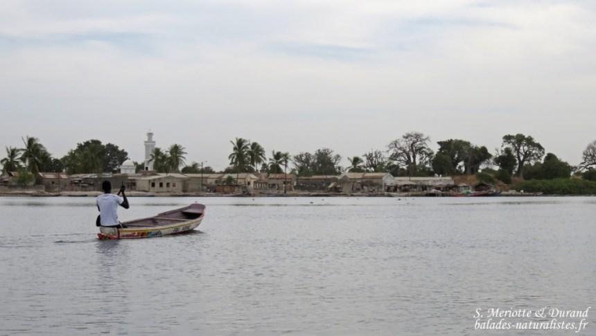 Village au bord du Sine Saloum