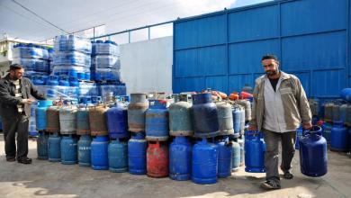 صورة دخول 10 شاحنات غاز مصري للقطاع ومالية غزة تُحدد الأسعار
