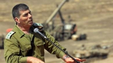 صورة اشكنازي: نرسل الدولارات الى غزة صباحا ونعد تساقط الصواريخ علينا في المساء