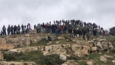صورة إصابات خلال مواجهات مع الاحتلال خلال محاولة اقتحام جبل العرمة بنابلس