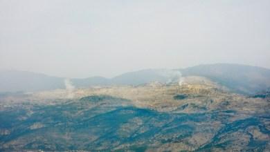 صورة تبادل لإطلاق النار بين الاحتلال وخلية لحزب الله قرب مزارع شبعا