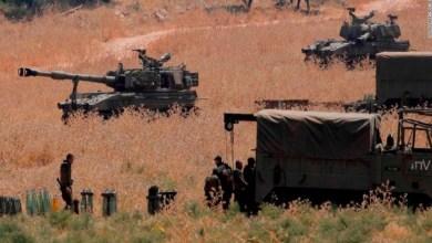 صورة بالفيديو:الجيش الإسرائيلي يوثق استهداف الخلية على الحدود السورية