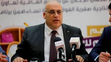 صورة وزير العمل: نعمل على تخصيص مشاريع تشغيلية لقطاع غزة