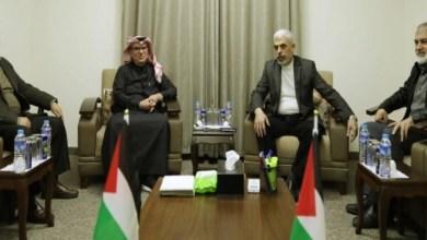 صورة معاريف : قطر وإسرائيل تناقشان برنامج مساعدات كبير لغزة للتوصل لتهدئة طويلة مع حماس