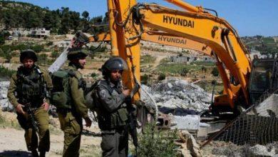 صورة سلطات الاحتلال تخطر بوقف البناء في منزل قيد الإنشاء ببيت لحم