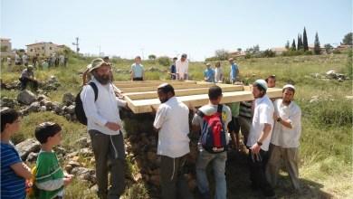 """صورة عشرات المستوطنين يقتحمون منطقة """"أرنبة"""" شمال الخليل"""