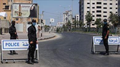 """صورة بدء سريان قرار حظر التجول في قطاع غزة للحد من انتشار فيروس """"كورونا"""""""