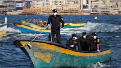 صورة الشرطة البحرية بغزة تقرر إغلاق البحر أمام الصيادين بسبب المنخفض الجوي