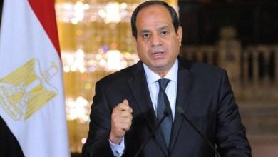 صورة السيسي يؤكد رفض أي عمل أو إجراء يمس بحقوق مصر في مياه النيل