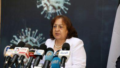 """صورة الصحة: تسجيل 17 وفاة و1414 إصابة جديدة بفيروس """"كورونا"""" في فلسطين"""
