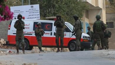 صورة إصابة 4 مواطنين برصاص الاحتلال والعشرات بالاختناق خلال مسيرة بيت دجن