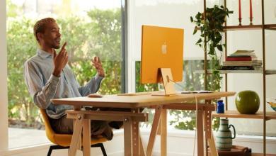صورة أبل تكشف عن جهاز iMac الجديد كليًا