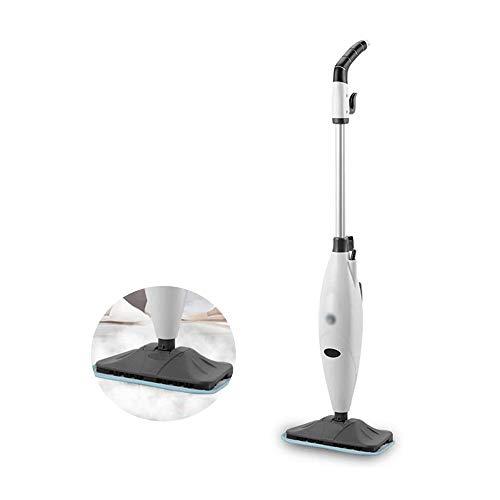 Sdesign Steam Mop Cleaner Handheld Nettoyage de Tapis Monobrosses 1300W Puissant Non-Chimique Multifonctionnel, des ménages Non-électrique sans Fil Balai