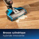 BISSELL CrossWave – Aspirateur/nettoyeur/sécheur 3-en-1 pour sols durs et moquettes – fonctionne avec de l'eau