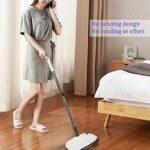 Nettoyeur à vapeur portatif multifonctionnel pour la maison, nettoyeur à vapeur pour le sol, balai à vapeur électrique, serpillère à vapeur lavable