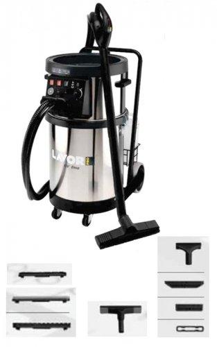 Lavor nettoyeur vapeur balai nettoyant pour poussières, 4000 plus avec impression noire «eTNA»