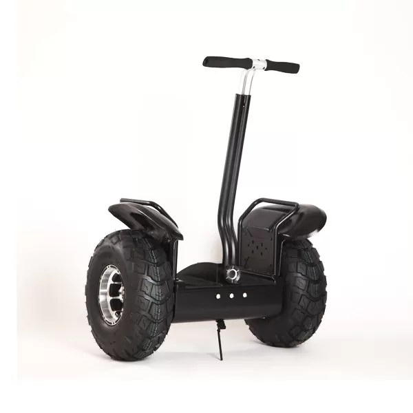 Standing Motorized Scooter Two Wheeled Self Balancing With Handle Bar