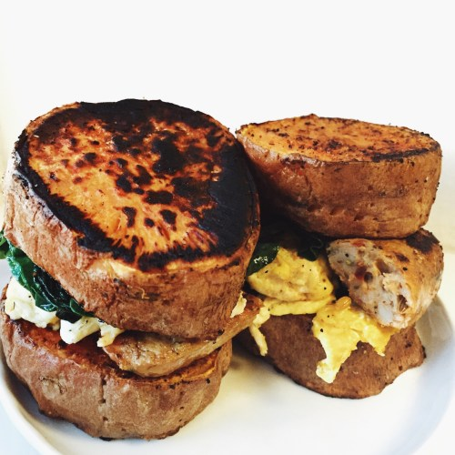 Recipe Makeover: Sausage Egg and Cheese Breakfast Sandwich