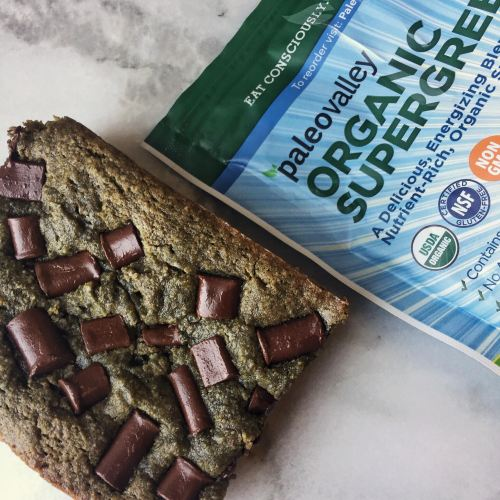 Easy Supergreens Chocolate Almond Butter Bread