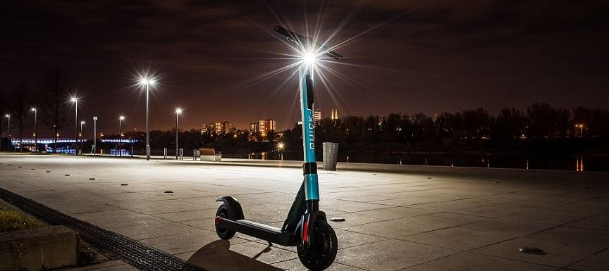 Perfect commuting scooter electric