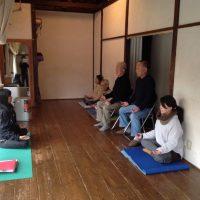 瞑想教室の様子