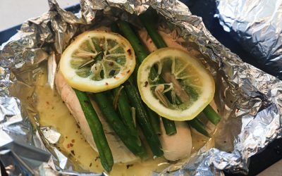 Lemon Chicken and Green Beans