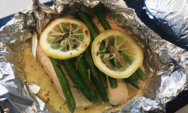 Lemon Chicken and Green Beans