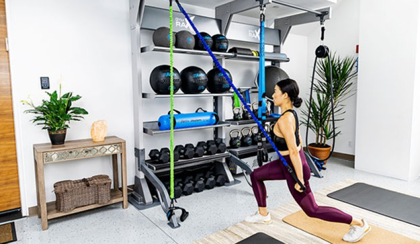traditional gyms vs home gyms